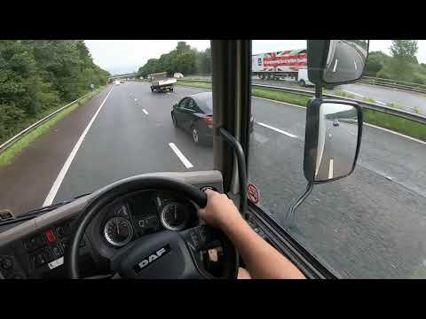 A DAY AT WORK AS A HGV CLASS 2 LORRY DRIVER IN ENGLAND UK [pov]