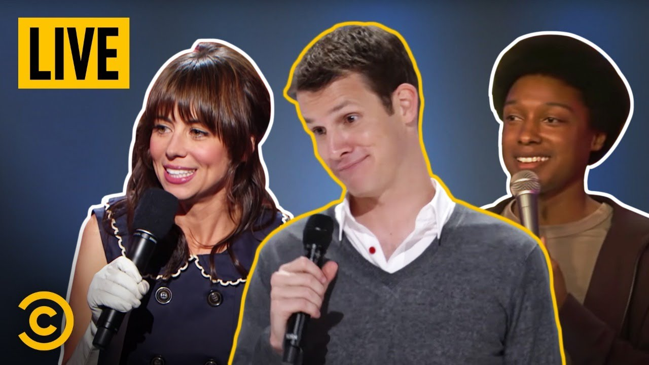 🔴 STREAMING NOW: Must-See Comedy Central Stand-Up Classics