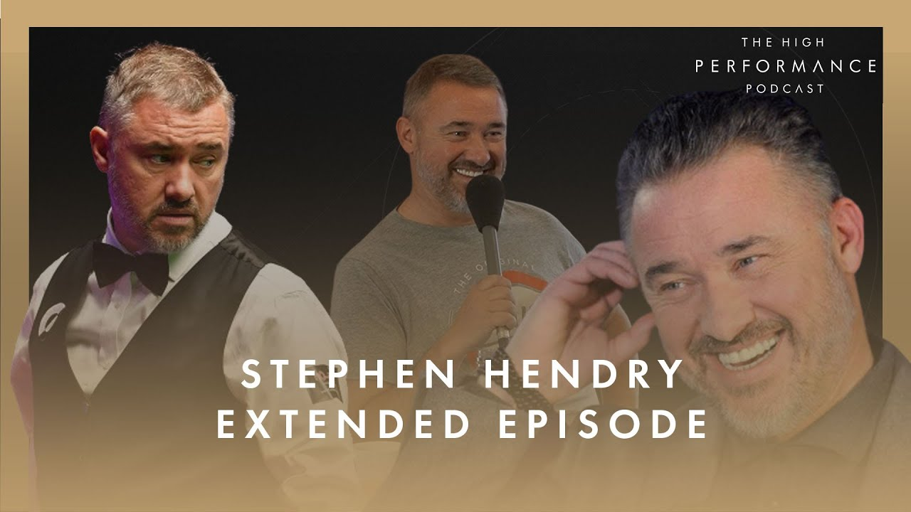 """STEPHEN HENDRY""""I was put on this earth to win World Titles"""" #YouTubeLongs 