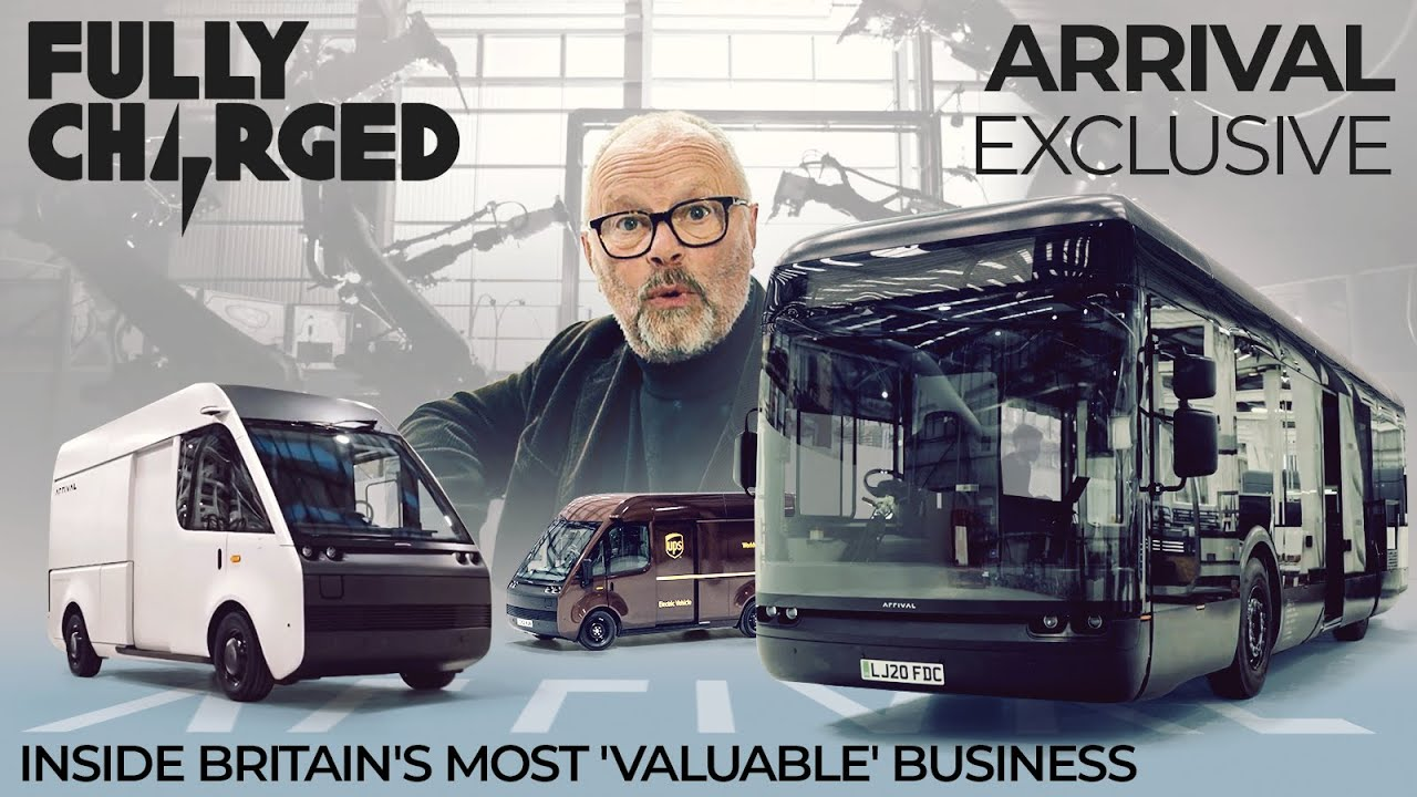 ARRIVAL Exclusive – Inside Britain's most 'valuable' business   FULLY CHARGED