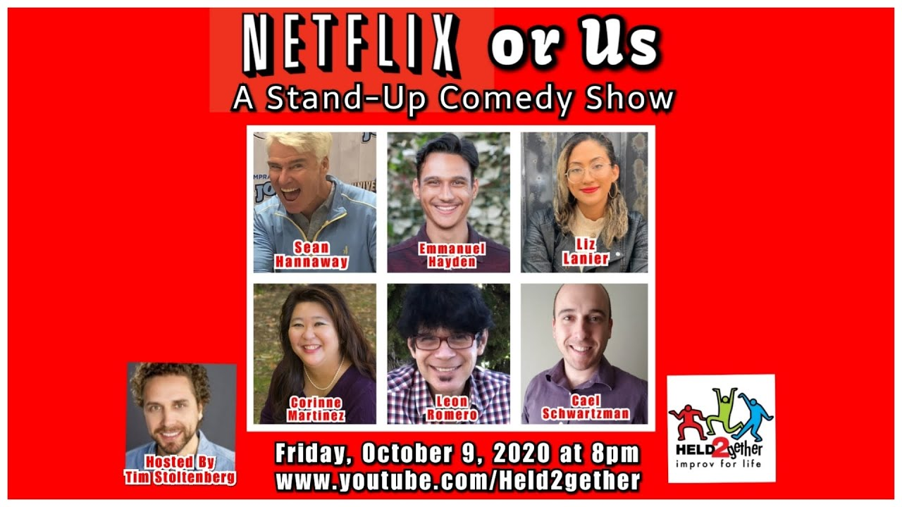 Netflix or Us: A Stand-Up Comedy Show